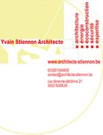 Yvain Stiennon – Architecte à Namur